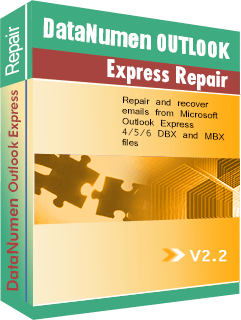 DataNumen Outlook Express Repair