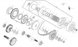 Motor Luftgekühlt Minarelli (liegender Zyl.)
