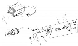Motor 2V Baugruppen
