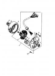 Baugruppen Motor 2-Takt