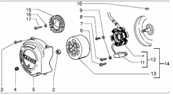 Baugruppen Motor Luftgekühlt