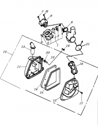 Baugruppen Motor