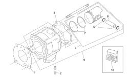 Baugruppen Motor (Vergasermodell)
