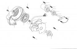 Motor Luftgekühlt Minarelli nur liegender Zyl.