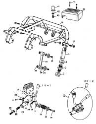 Baugruppen Aufbau, Fahrgestell