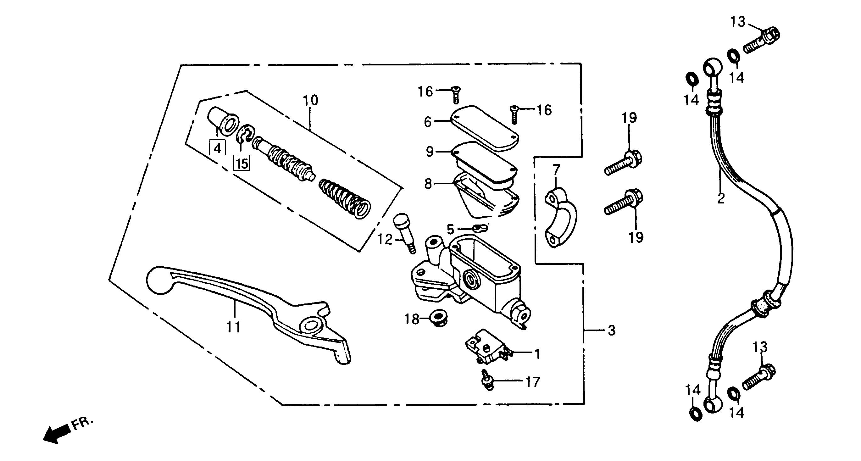 Front Brake Master Cylinder