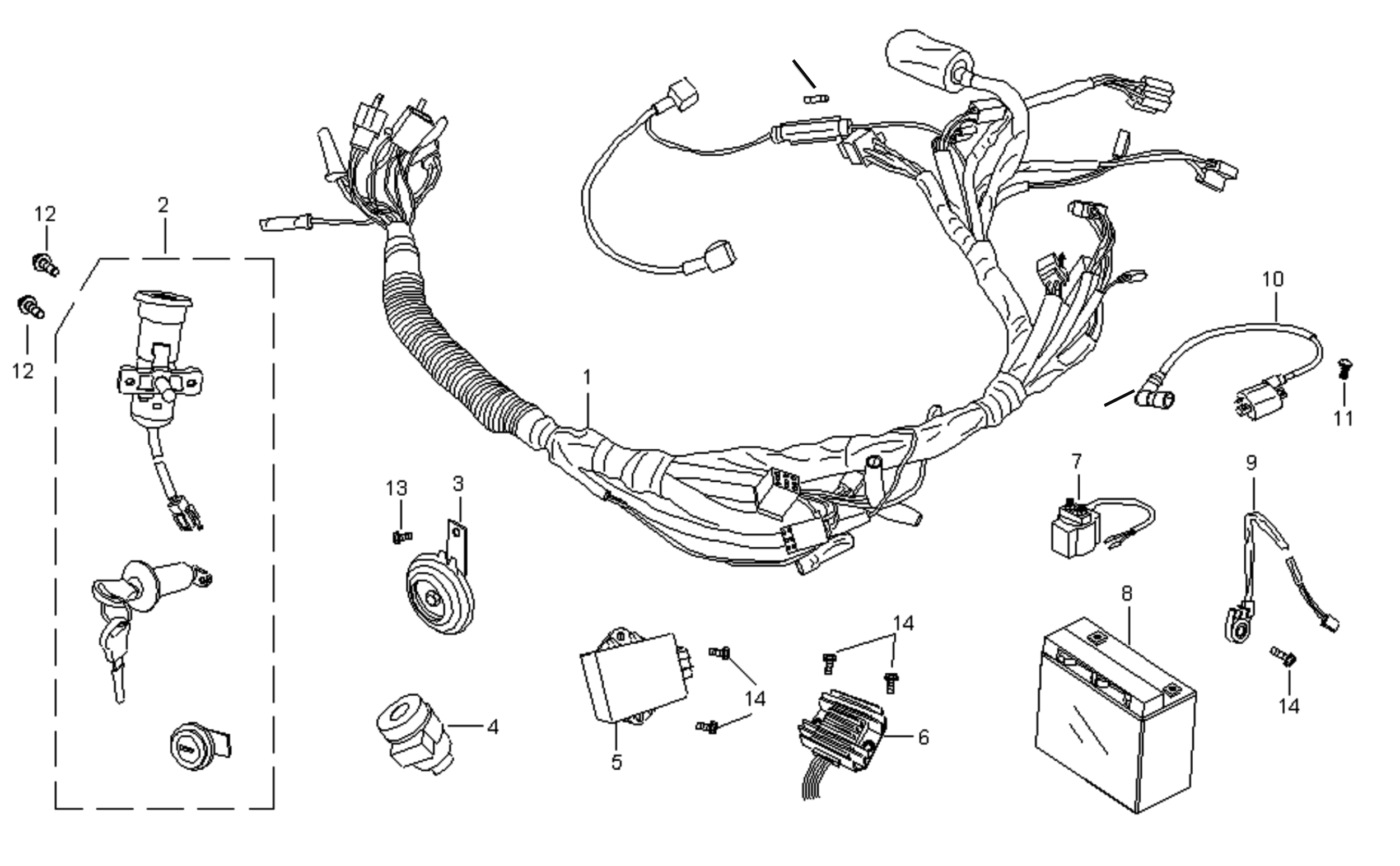 ELECTRICAL / WIRE HARNESS