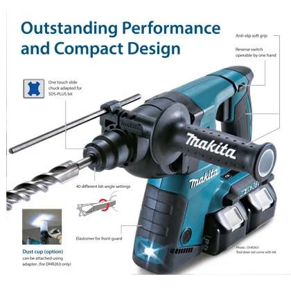 Makita DHR263 36v SDS Hammer Drill