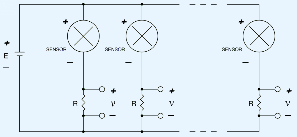 medium resolution of schematic of two or more 2 wire 4 20 ma sensors powered by a