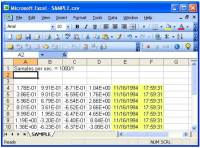 Date and Time Added to Spreadsheet Print (.CSV) Files