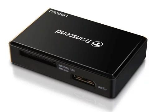 Transcend's RDF8 High-performance USB 3.0 multi card reader