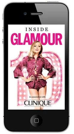 iPhone Glamour Magazine is the latest fashion in hand