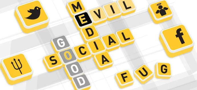 Social Media can do Good or Bad to you