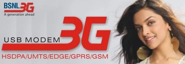 BSNL introduced Yearly 3G Data Plans for Prepaid Customers starting Rs 1251/year