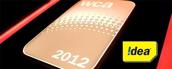 Idea Wins 'Best Brand Campaign' Award for 2nd time at World Communication Awards 2012