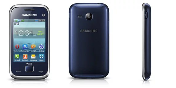 Samsung REX 60 feature phone