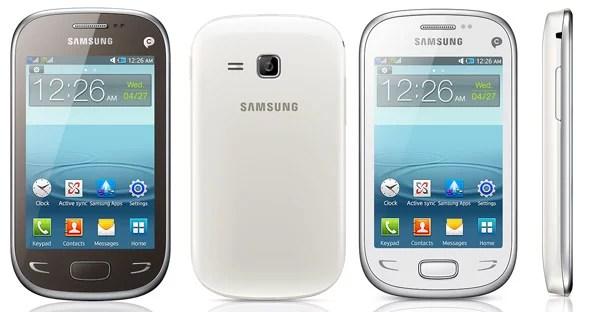 Samsung REX 90 feature phone