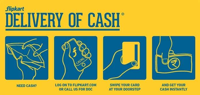 Flipkart Delivery of Cash (DOC)