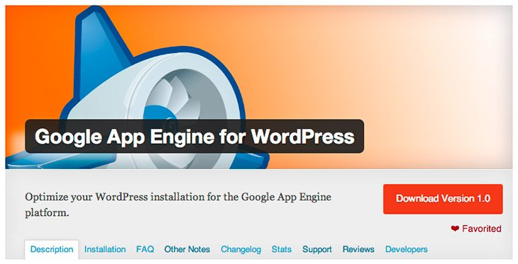 WordPress gets Official Google App Engine Plugin - supports sending e-mails and Google Cloud Storage