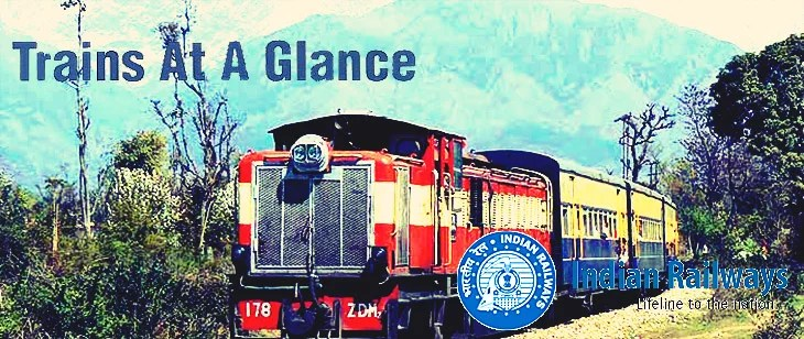 Indian Railway introduces 'Trains at a Glance' - Complete Railway Time Table
