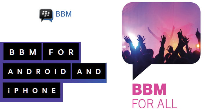 BlackBerry Messenger (BBM) App launched for iOS, Android Devices
