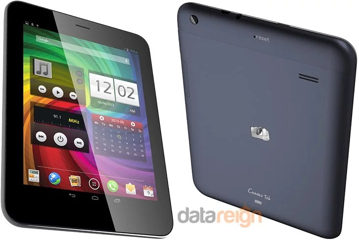 Micromax unveils Canvas Tab P650 with 8inch display, Quad Core CPU, Voice Calling at Rs 16,500