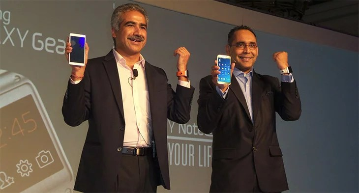 Samsung Galaxy Note 3 with Galaxy Gear launched in India