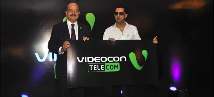 Videocon Mobile Services gets rebranded to Videocon Telecom - New Logo and Brand Ambassador