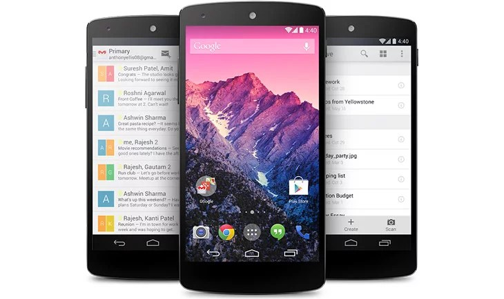 Google Nexus 5 and Nexus 7 makes its way to India - Now available on Google India Play store