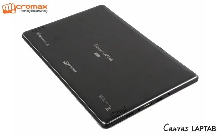 Micromax unveils dual-boot Canvas LapTab - runs Android Jelly Bean and Windows 8.1