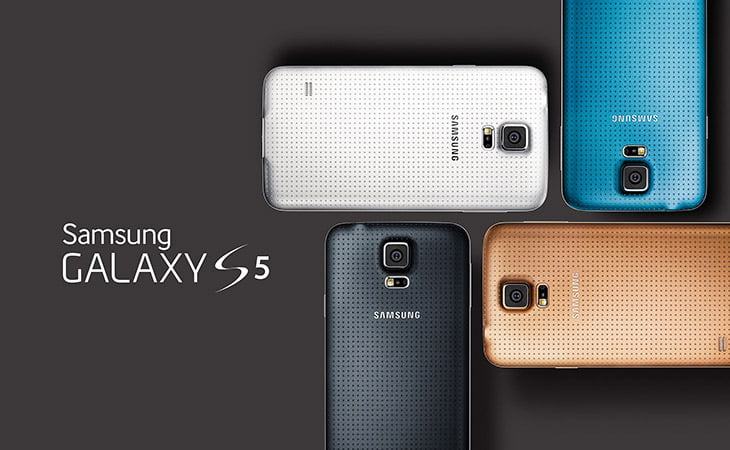 Samsung launches Galaxy S5 - 1080p Super AMOLED display, Quad-Core CPU, Water/Dust Resistant,16MP Camera and lots of Sensors