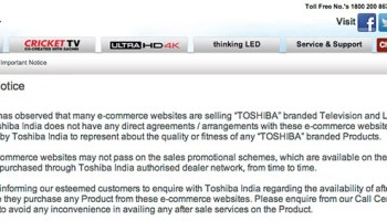 6ffe70c6a56 Lenovo warns users on buying its products from Online Retailers in India