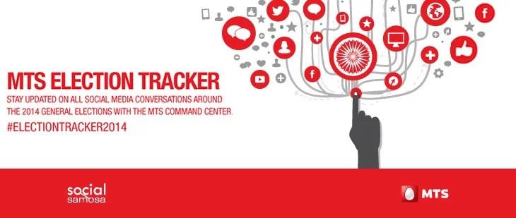 MTS brings Live Interactive Election Tracker - Analysing Social Media Conversations