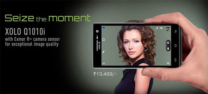 Xolo Q1010i with Sony Exmor R Camera Sensor - India pricing and specification
