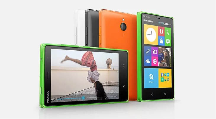 Microsoft unveils 2nd generation of Nokia X Android smartphones - the Nokia X2