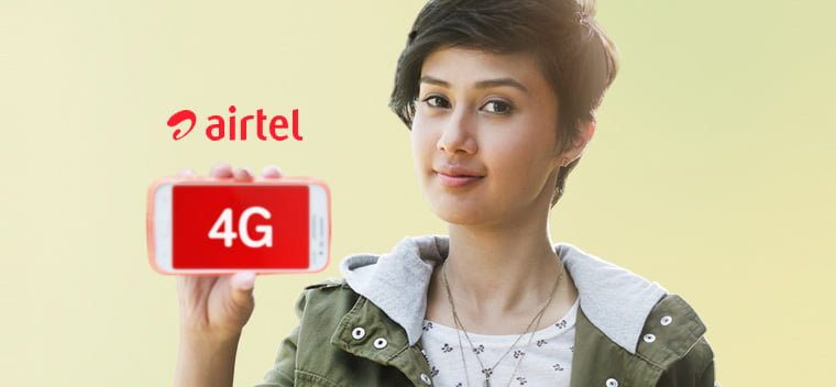 Airtel rolls out high-speed 4G LTE network in 296 cities across India