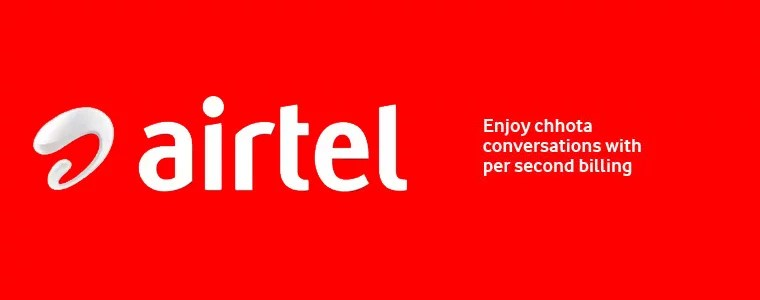 Pay For What You Use - Airtel goes for per second billing for its Prepaid Customers