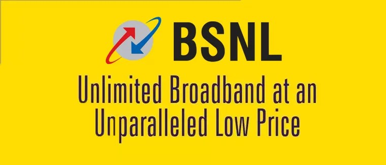 BSNL to upgrade minimum broadband speed by Four times from 512 Kbps to 2 Mbps