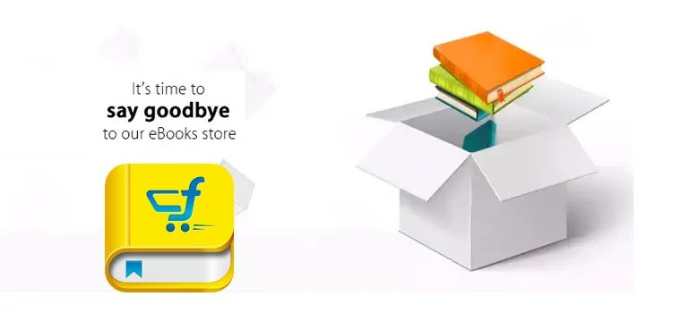 Flipkart exit out from selling eBooks, migrates to Kobo