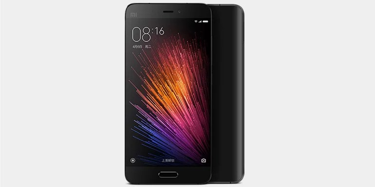 Xiaomi Officially Launches the Mi 5