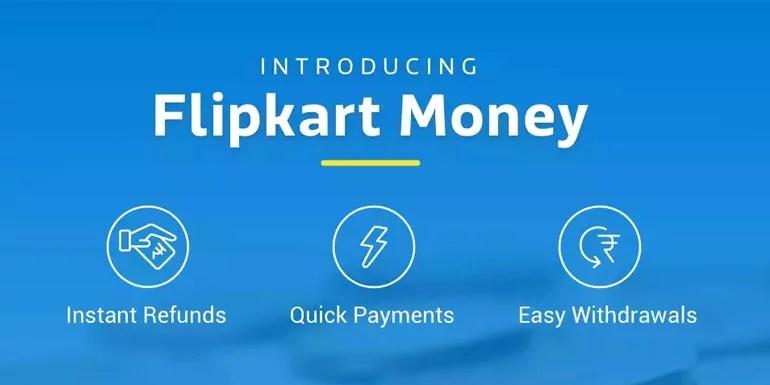 Flipkart Money - the digital wallet for shopping at Flipkart