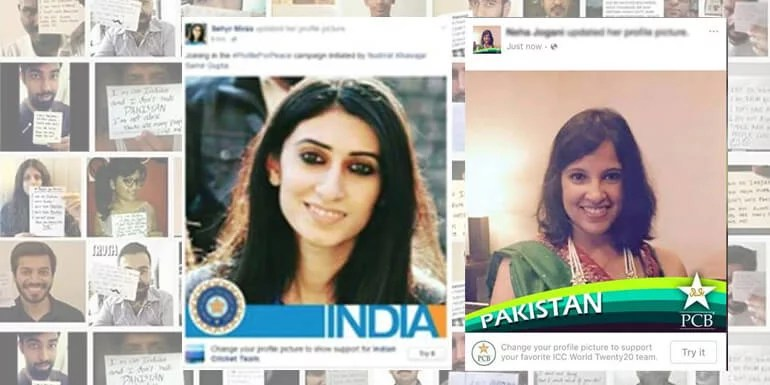 India and Pakistan Cricket Fans joins together to Spread the Message Of Peace