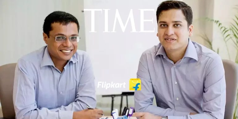 Sachin Bansal & Binny Bansal named in 2016 TIME '100 Most Influential People'