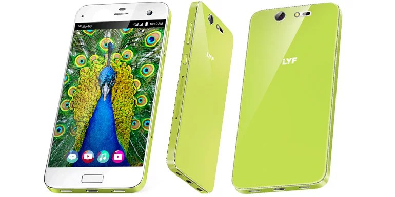 LYF unveils Earth 2 with retina scanner, Snapdragon SoC, 4G VoLTE