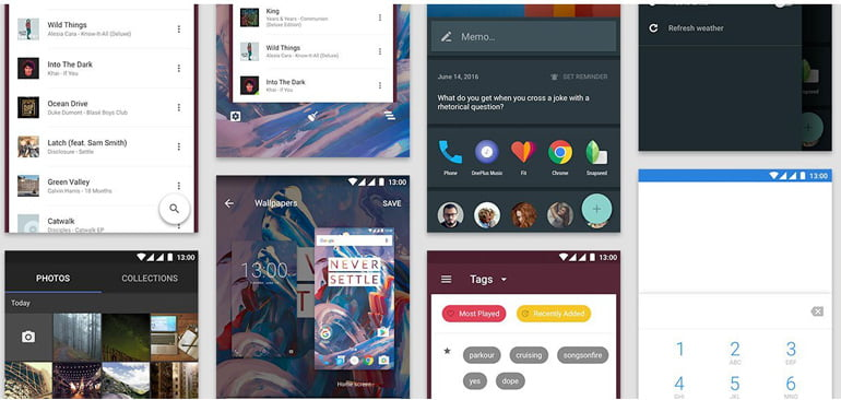 OnePlus 3 Oxygen android OS