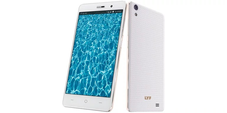 LYF Water 6 smartphone Specification and pricing