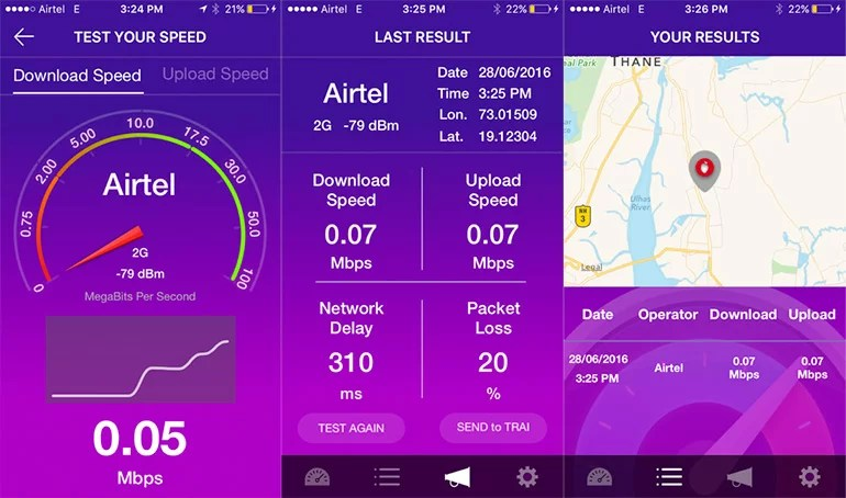 TRAI launches MySpeed app to test & track Mobile Internet Speed