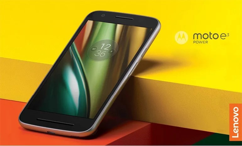 Moto e3 Power unveiled with 3500 mAh battery, 4G VoLTE, 2GB RAM