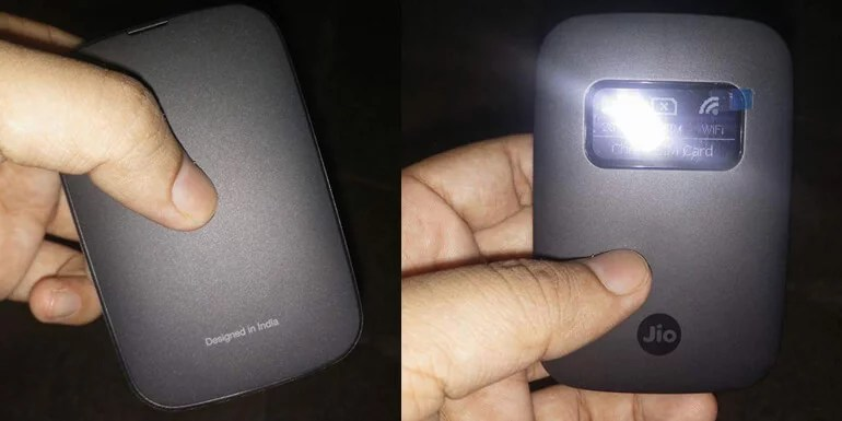 Reliance Jio launches new JioFi 4G WiFi Hotspot Device with OLED display