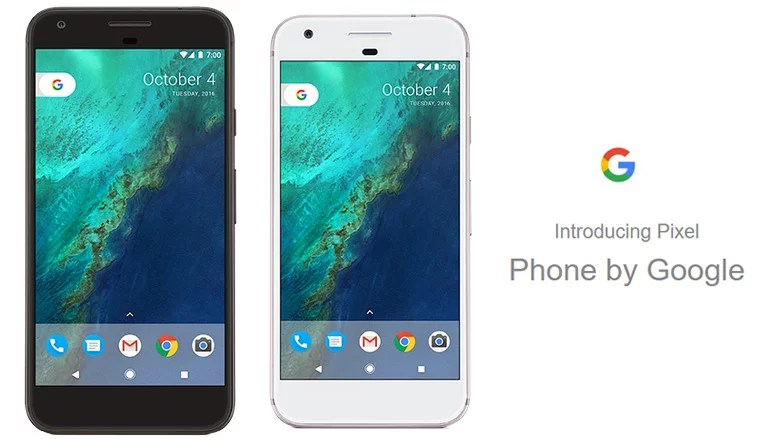 Google introduces Pixel and Pixel XL android smartphone